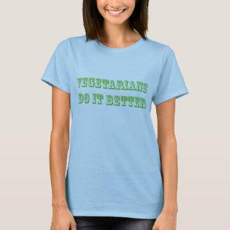 Camiseta Los vegetarianos mejora