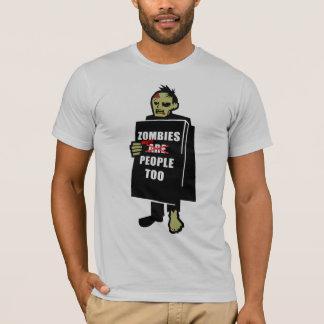 Camiseta Los zombis eran gente también