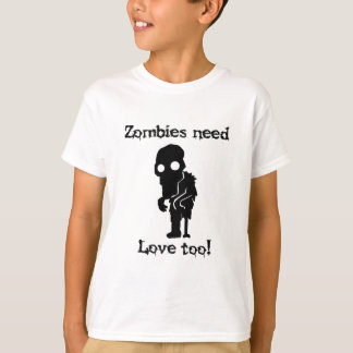 Camiseta Los zombis necesitan amor también
