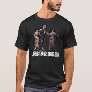Camiseta Los zombis se divierten más