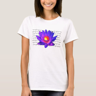 Camiseta Lotus brillante NMRK