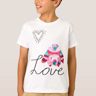 Camiseta Love Elephant