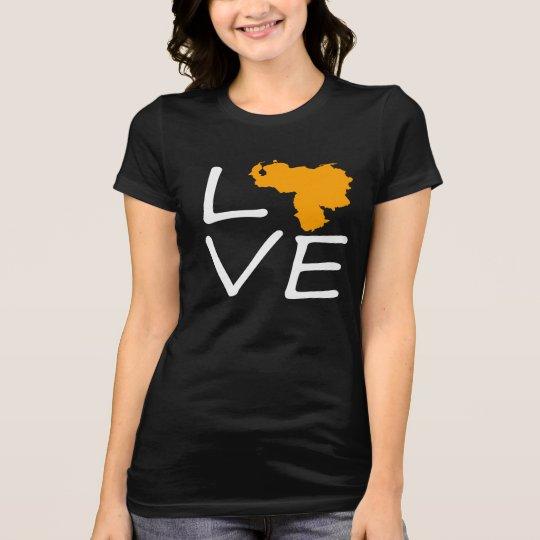 Camiseta love venezuela
