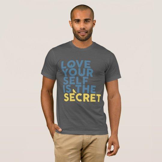 Camiseta Love Yourself is the Secret