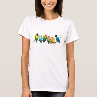Camiseta Lovebirds