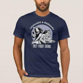 Camiseta Lovelace y Babbage: Luchan crimen