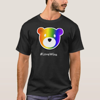 Camiseta #LoveWins de GROWLr oscuros
