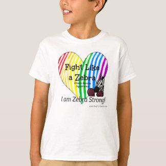 Camiseta Lucha como una conciencia de Ehlers-Danlos de la