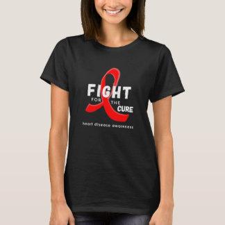 Camiseta Lucha de la conciencia de la enfermedad cardíaca