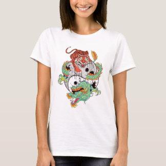 Camiseta Lucha del tigre del dragón