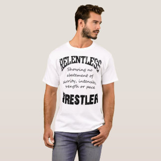 Camiseta Luchador implacable