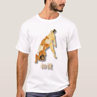 Camiseta Luchadores del sumo del vintage con sumo de la