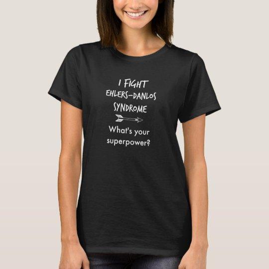 Camiseta ¿Lucho Ehlers-Danlos - cuál es su superpotencia?