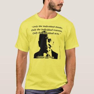 Camiseta Ludwig von Mises - acción humana