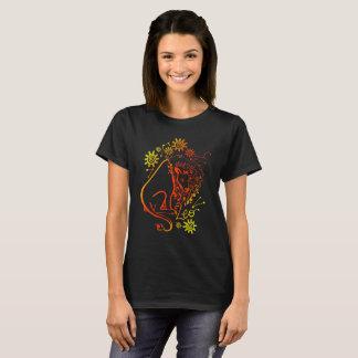 Camiseta luminescente de la muestra del zodiaco de