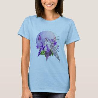 Camiseta Luna de la violeta dulce
