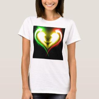Camiseta luv del rasta