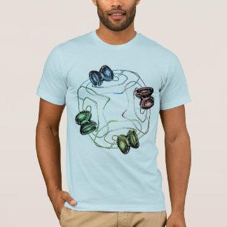 Camiseta Luz coloreada de los yoyos