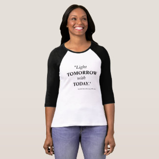 Camiseta Luz mañana con hoy