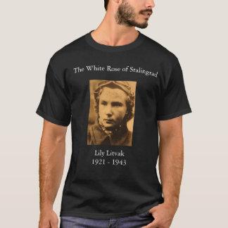 Camiseta Lydia_Litvyak, el rosa blanco de Stalingrad, Li…