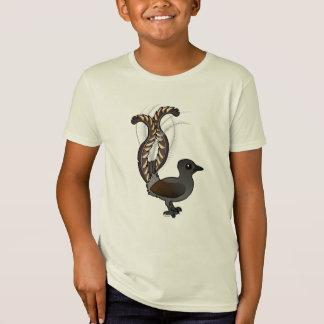 Camiseta Lyrebird magnífico de Birdorable