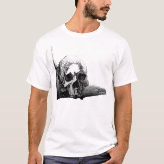 Camiseta macabra del cráneo