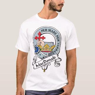 Camiseta MacDonald de la insignia del clan de Donald