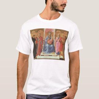 Camiseta Madonna con el niño de Cristo