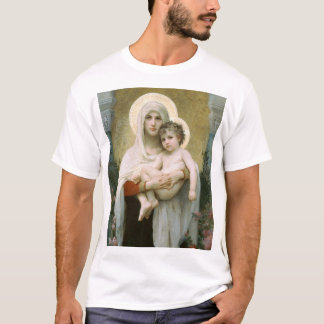 Camiseta Madonna de los rosas OSCUROS