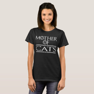 Camiseta Madre de gatos
