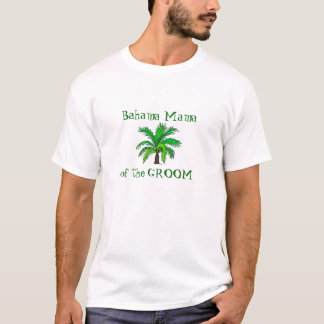 Camiseta Madre del novio - Bahamas