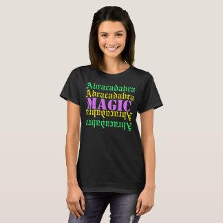 Camiseta Magia de la abracadabra de las CAMISETAS/texto del