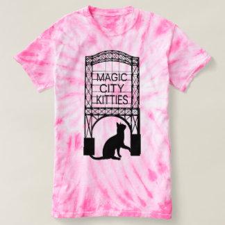 Camiseta mágica de los gatitos de la ciudad
