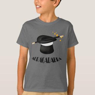 Camiseta mágica del mago de la abracadabra