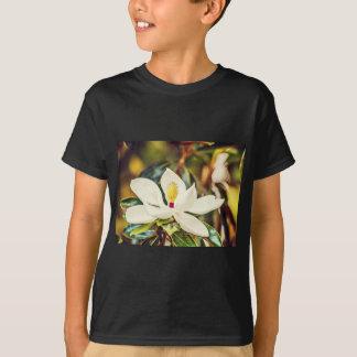 Camiseta Magnolia en la floración