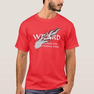 Camiseta Mago - usted está en gama de la bola de fuego