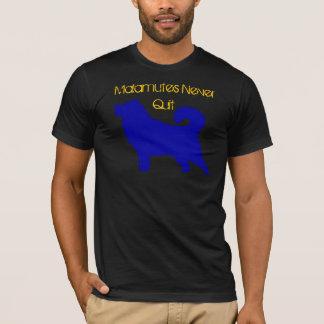 Camiseta Malamutes nunca abandonados