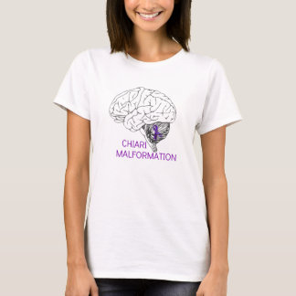 Camiseta Malformación de Chiari del cerebro