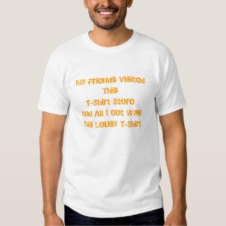 Camiseta malísima
