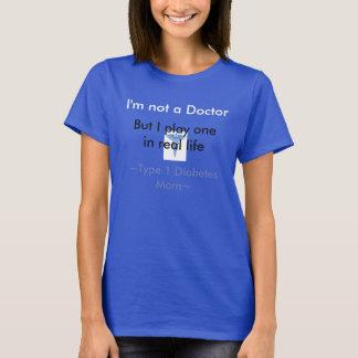 Camiseta Mamá de la diabetes del tipo 1