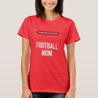 Camiseta MAMÁ del FÚTBOL del atletismo de Clabaugh