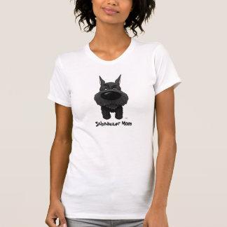 Camiseta Mamá del Schnauzer