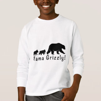 Camiseta Mamá oso grizzly y Cubs