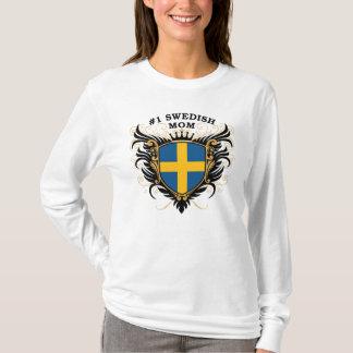 Camiseta Mamá sueca del número uno