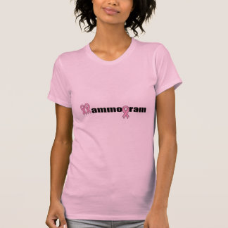 Camiseta - mamograma del cáncer de pecho
