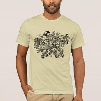 Camiseta Manada de las bicis (para hombre)
