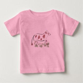 Camiseta manchada de la vaca