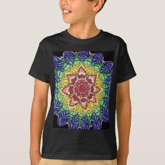 Camiseta Mandala del arco iris