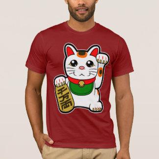 Camiseta Maneki Neko: Gato afortunado japonés