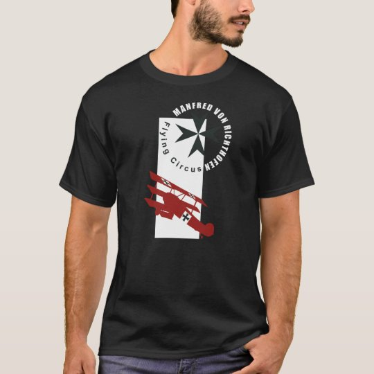 Camiseta manfred von richthofen baron rojo